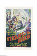 Movie Posters:Documentary, Titans of the Deep (Grand National, 1938)....