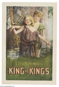 Movie Posters:Drama, King of Kings (Pathe', 1927)....