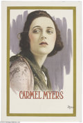 Movie Posters:Miscellaneous, Carmel Meyers Personality Portrait (Universal, 1918)....
