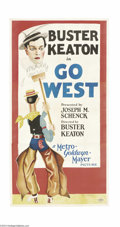 Movie Posters:Comedy, Go West (MGM, 1925)....