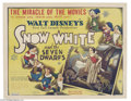 Movie Posters:Animated, Snow White and the Seven Dwarfs (RKO, 1937)....