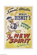 Movie Posters:Animated, New Spirit (RKO, 1942)....