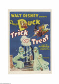 Movie Posters:Animated, Trick or Treat (RKO, 1952)....