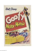Movie Posters:Animated, Motor Mania (RKO, 1950)....