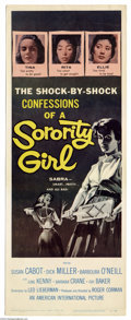 Movie Posters:Bad Girl, Sorority Girl (American International, 1957)....