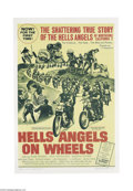 Movie Posters:Cult Classic, Hell's Angels on Wheels (Fanfare Films, Inc, 1967)....