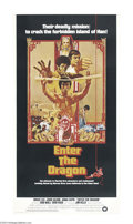 Movie Posters:Action, Enter the Dragon (Warner Brothers, 1973)....
