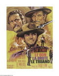 Movie Posters:Western, The Good, the Bad, and the Ugly (United Artists, R-1970s)....