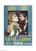 Movie Posters:Mystery, To Catch a Thief (Paramount, R-1964)....