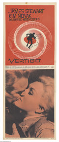 Movie Posters:Mystery, Vertigo (Paramount, 1958)....