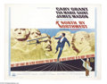 Movie Posters:Hitchcock, North by Northwest (MGM, R-1966)....
