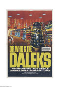 Movie Posters:Science Fiction, Dr. Who and the Daleks (Lion International, 1965)....