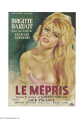 Movie Posters:Drama, Le Mepris (Cocinor, 1963)....