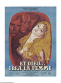 Movie Posters:Foreign, And God Created Woman (Cocinor, R-1964)....