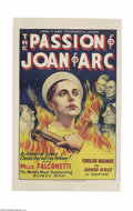 Movie Posters:Drama, The Passion of Joan of Arc (Gaumont, 1928)....