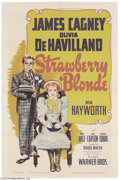 Movie Posters:Comedy, The Strawberry Blonde (Warner Brothers, 1941)....