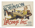 Movie Posters:Crime, Larceny, Inc. (Warner Brothers, 1942)....