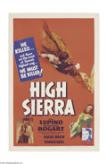 Movie Posters:Film Noir, High Sierra (Warner Brothers, 1941)....