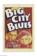 Movie Posters:Drama, Big City Blues (Warner Brothers, 1932)....