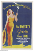 Movie Posters:Film Noir, Gilda (Columbia, R-1959)....