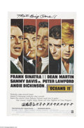Movie Posters:Drama, Ocean's 11 (Warner Brothers, 1960)....