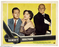 Movie Posters:Film Noir, Sunset Boulevard (Paramount, 1950).... (3 pieces)