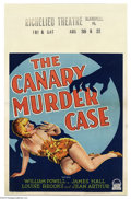 Movie Posters:Mystery, Canary Murder Case (Paramount, 1929)....