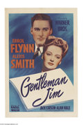 Movie Posters:Drama, Gentleman Jim (Warner Brothers, 1942)....