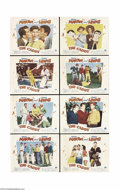 Movie Posters:Sports, The Caddy (Paramount, 1953).... (8 pieces)