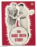Movie Posters:Sports, Babe Ruth Baseball Lot (Allied Artists, 1948).... (4 items)