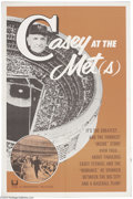 Movie Posters:Sports, Casey at the Met(s) (Universal, 1963)....