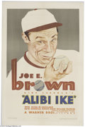 Movie Posters:Sports, Alibi Ike (Warner Brothers, 1935)....