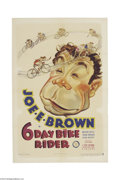 Movie Posters:Comedy, Six Day Bike Rider (Warner Brothers/First National, 1934)....