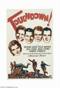 Movie Posters:Sports, Touchdown (Paramount, 1931)....