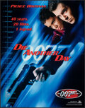 """Movie Posters:James Bond, Die Another Day (MGM, 2002). Overall: Very Fine+. Soundtrack Posters (3) (12"""" X 12"""" & 11"""" X 14"""") SS & DS & 40th Anniversary ... (Total: 4 Items)"""