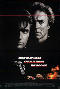 "The Rookie (Warner Bros., 1990). Rolled, Very Fine-. One Sheets (2) Identical (27"" X 40.25"") DS. Action. ... (..."