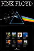 Music Memorabilia:Posters, Pink Floyd 1973 Dark Side of the Moon