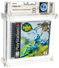 Video Games:Playstation, A Bug's Life - Wata 9.8 B+ Sealed [Sony Security Label], PS1 Sony 1998 USA....