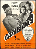 """Movie Posters:Academy Award Winners, Casablanca (Warner Bros., 1947). Very Fine-. First Post-War Release French Pressbook (8 Pages, 9.25"""" X 12.5"""").. ..."""
