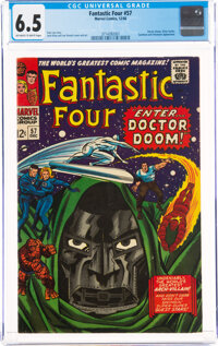 Fantastic Four #57 (Marvel, 1966) CGC FN+ 6.5 Off-white to white pages