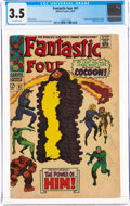Silver Age (1956-1969):Superhero, Fantastic Four #67 (Marvel, 1967) CGC VG- 3.5 Off-white pages....