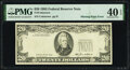 Error Notes:Missing Third Printing, Missing Third Printing Error Fr. 2075-? $20 1985 Federal Reserve Note. PMG Extremely Fine 40 EPQ.. ...