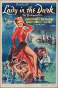 """Lady in the Dark (Paramount, 1944). Folded, Fine/Very Fine. One Sheet (27"""" X 41""""). Comedy"""