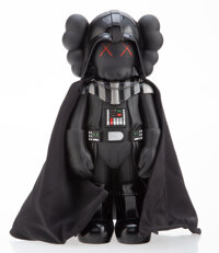 KAWS (b. 1974) Darth Vader, 2007 Painted cast vinyl 9-3/4 x 4-1/2 x 3-1/2 inches (24.8 x 11.4 x 8