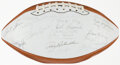 Autographs:Footballs, Circa 1979 Green Bay Packers Greats Multi-Signed Football - With Johnny Blood & Ray Nitschke, Etc. ...