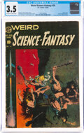 Golden Age (1938-1955):Science Fiction, Weird Science-Fantasy #29 (EC, 1955) CGC VG- 3.5 Off-white to white pages....
