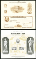 Group of Eleven Engraved Souvenir Cards. Extremely Fine-About Uncirculated. ... (Total: 11 items)