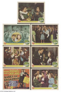 Movie Posters:Musical, Babes on Broadway (MGM, 1941).... (7 items)