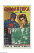 Movie Posters:Serial, Captain America (Republic, 1944)....