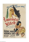 Movie Posters:Fantasy, I Married a Witch (United Artists, 1942)....